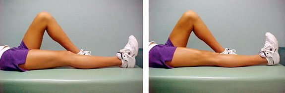 Physical Therapy - Knee Exercise